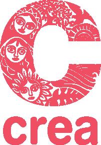logo of crea in red colour